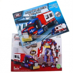 kre o optimus prime brick box instructions